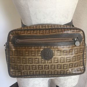 Fendi 70s Vintage Convertible Crossbody Belt Bag
